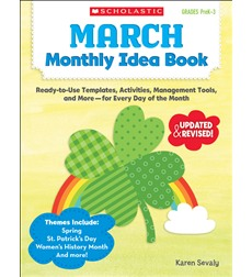 March Monthly Idea Book