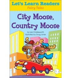 Let's Learn Readers: City Moose, Country Moose
