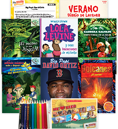 My Books Summer Spanish Grade 3 Fiction-Nonfiction Pack