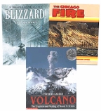 Scholastic Trio Individual Theme Unit Set 6, Science - Natural Disasters, Grades 6-7