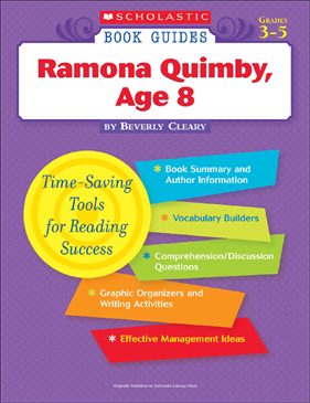 Scholastic Book Guides: Ramona Quimby, Age 8