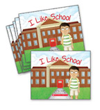 Guided Reading Set: Level A – I Like School