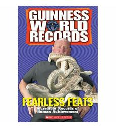 Guinness World Records: Fearless Feats - Activity Sheet