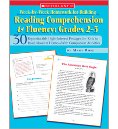 Week-by-Week Homework for Building Reading Comprehension & Fluency: Grades 2-3