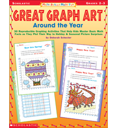 Math Skills Made Fun: Great Graph Art Around the Year