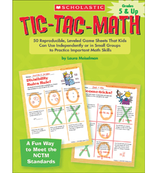 Tic-Tac-Math: Grades 5 & Up