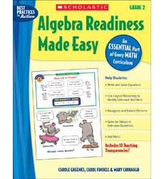 Algebra Readiness Made Easy: Grade 2