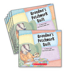 Guided Reading Set: Level H – Grandma's Patchwork Quilt