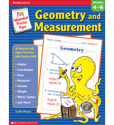 Fun Independent Practice Pages: Geometry and Measurement