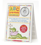 ABC Sing-Along Flip Chart & CD