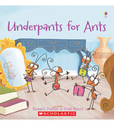 Usborne Phonics Readers: Underpants for Ants