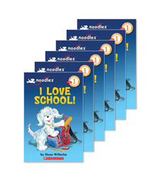 Guided Reading Set: Level C – I Love School!
