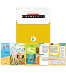 Scholastic Literacy Events Summer Reading Grade K