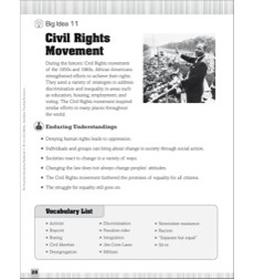 Essential Questions for Social Studies: Civil Rights Movement