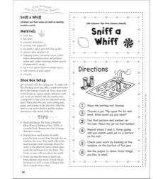 Sniff a Whiff (The Five Senses - Smell): Life Science Shoe Box Learning Center