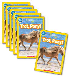 Guided Reading Set: Level E – Trot, Pony!