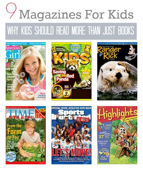 9 Great Magazines for Kids (and Why They Should Read More Than Just Books)