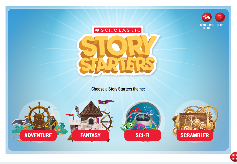 Story Starters: Free Scholastic Resource That Gets Kids' Creativity Flowing